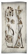 Abstraction 2819 Beach Towel