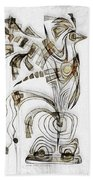 Abstraction 2829 Beach Towel