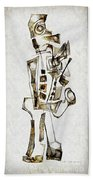Abstraction 2843 Beach Towel