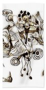 Abstraction 2865 Beach Towel