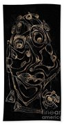 Abstraction 2978 Beach Towel