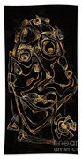 Abstraction 2979 Beach Towel