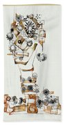 Abstraction 2990 Beach Towel