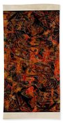 Abstraction 3047 Beach Towel
