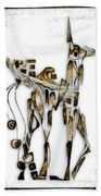 Abstraction 3091 Beach Towel
