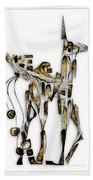 Abstraction 3092 Beach Towel