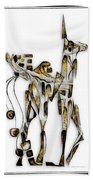 Abstraction 3093 Beach Towel