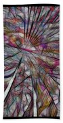Abstraction 3097 Beach Towel