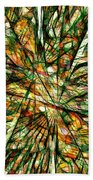 Abstraction 3099 Beach Towel