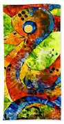 Abstraction 3198 Beach Towel