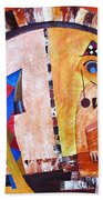 Abstraction 3217 Beach Towel