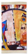 Abstraction 3219 Beach Towel