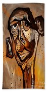 Abstraction 3299 Beach Towel