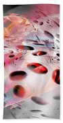 Abstraction 3304 Beach Towel