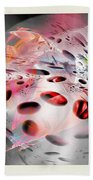 Abstraction 3307 Beach Towel
