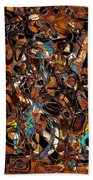 Abstraction 3374 Beach Towel