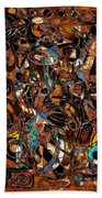 Abstraction 3376 Beach Towel