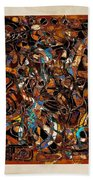 Abstraction 3377 Beach Towel