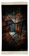 Abstraction 3421 Beach Towel