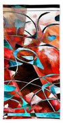 Abstraction 3422 Beach Towel