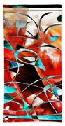 Abstraction 3423 Beach Towel