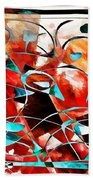 Abstraction 3424 Beach Towel