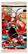 Abstraction 3426 Beach Towel