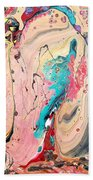 Abstraction #36  Beach Towel