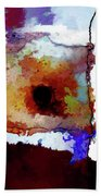 Abstraction #39 Beach Towel