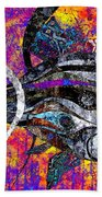 Abstraction 788 - Marucii Beach Towel