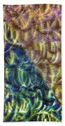 Abstraction From A Sculpture Beach Towel