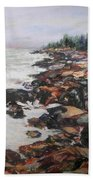 Acadian Afternoon Beach Towel