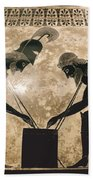Achilles & Ajax, C540 B.c Beach Towel