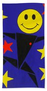 Acid Jazz Beach Towel