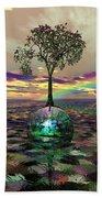 Acid Tree Beach Towel