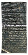 Acoustic Deck Shadows Beach Towel