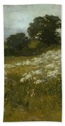 Across The Fields Beach Towel by John Mallord Bromley