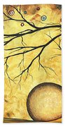 Across The Golden River By Madart Beach Towel