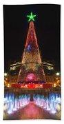 Adelaide Christmas Lights  Vg Beach Towel