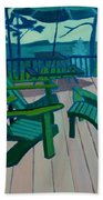 Adirondack Chairs Maine Beach Towel
