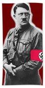 Adolf Hitler Crossed Hands Circa 1934-2015 Beach Towel