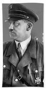 Adolf Hitler Portrait Heinrich Hoffmann Photo Circa 1935-2016 Beach Towel