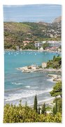 Adriatic Coast In Croatia Beach Towel