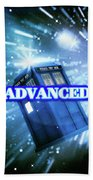 Advanced Whovians Alt Beach Towel