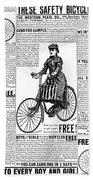 Advertisement, 1891 Beach Towel
