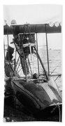 Aerial Torpedo, 1915 Beach Towel