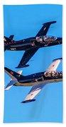 Aero L-39c Albatros Jet Trainers Beach Towel