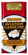 Aerogas Red Pump Beach Towel