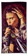 Aerosmith-94-steven-1192 Beach Towel