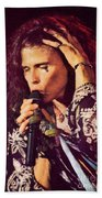 Aerosmith-94-steven-1192 Beach Towel